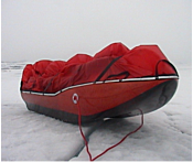 Composite resins used to manufacture sledges for polar expeditions.